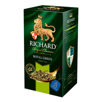 Чай Richard Royal Green зеленый, 25 пак