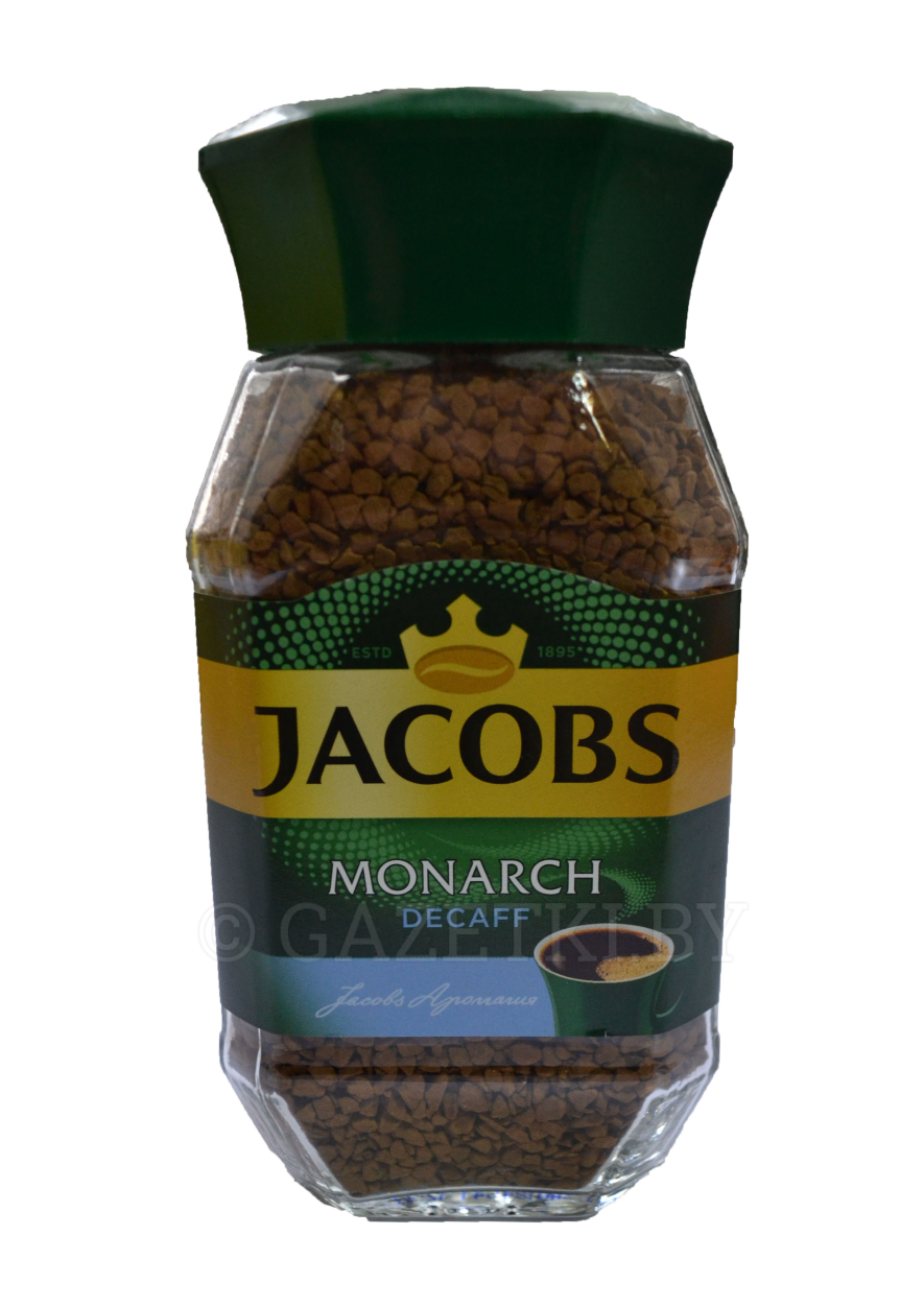 Кофе растворимый 	«Jacobs Monarch»	Россия	95г ст/б