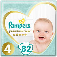 Подгузники Pampers Premium Care 4 Maxi (82шт)