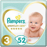 Подгузники Pampers Premium Care 3 Midi (52шт)