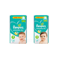 Подгузники Pampers Active Baby-Dry Junior 60шт