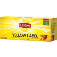 Чай черный LIPTON, yellow label, 25 пакетиков х 2 г