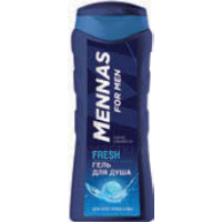 Гель для душа MENNAS FOR MEN fresh, 250 мл