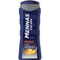 Гель для душа MENNAS FOR MEN, energy, 250 мл
