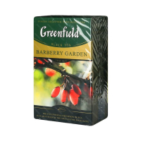 Чай черный GREENFIELD barberry garden, 100 г