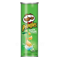 Чипсы PRINGLES, sour cream & onion, 165 г