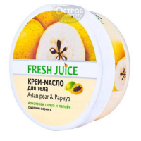 Крем-масло для тела Fresh Juice Asian Pear & Papaya, 225 мл