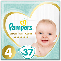 Подгузники Pampers Premium Care 4 Maxi (37шт)