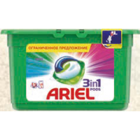 "Гелевые капсулы ""ARIEL"" Color 3 in 1 13 х 27 г"