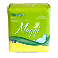 Прокладки Meggi Ultra Light, 10 шт