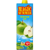 Сок «MAGIC SUMMER» яблоко, 1 л