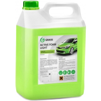 Автошампунь Grass Active Foam Light / 132101 (5л)
