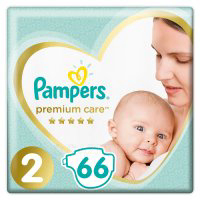 "Подгуз.""PAMPERS""(pr.care 4-8кг,р2,66шт)"