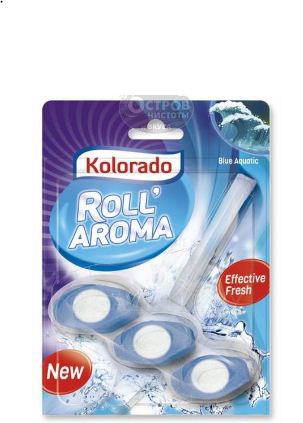 Блок для туалета Kolorado Roll Aroma Blue Aquatic