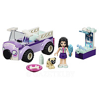 Конструктор LEGO Friends 41360 Передвижная ветклиника Эммы 50 дет.