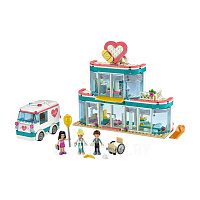 Конструктор LEGO Friends 41394 Городская больница Хартлейк Сити 379 дет.