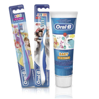 ORAL-B Baby, Kids, Junior Зубная паста, 75 мл или Зубная щетка