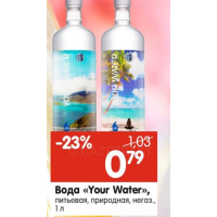 Вода Your Water