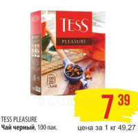Чай черный Tess Pleasure