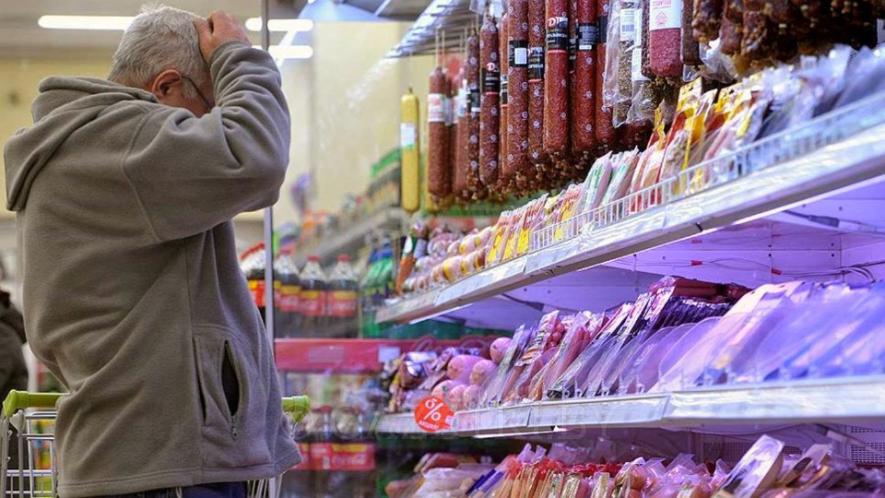 Рост цен на продукты в Беларуси