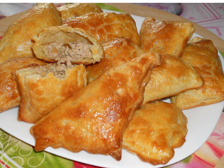 Пирожки с мясом рецепты простые и вкусные